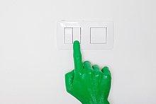Beleuchtung, Licht ,grün ,anschalten