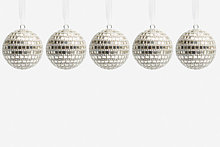 5,Weihnachten,Diskothek,Ball Spielzeug,kugelförmig,kugelig,Kugeln,Kugel