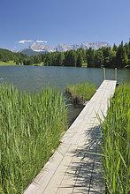 Berg ,See ,Ansicht ,Karwendelgebirge