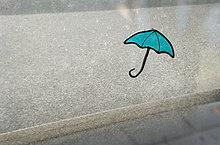 Fenster ,Regenschirm, Schirm ,Design ,blind