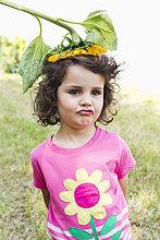Wildblume ,Kleidung ,Mädchen