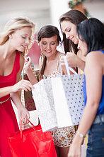 Frau ,sehen ,Tasche ,kaufen