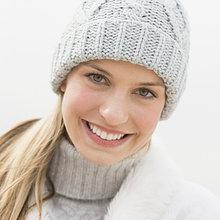 Portrait ,Frau ,Winter ,Kleidung ,jung