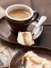 Espresso und Tiramisu
