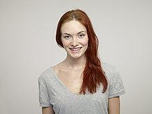 lächeln ,Portrait einer jungen Frau