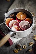 Orange, Orangen, Apfelsine, Apfelsinen ,Scheibe ,Zitrone ,Gewürz ,Blechkuchen