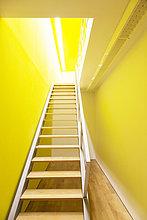 Helligkeit,führen,Zimmer,Treppe