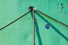 Seil,Tau,Strick,Schiff,Hamburg - Deutschland,Deutschland