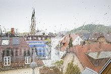 Tag,Fenster,Regen,Freiburg im Breisgau,Deutschland,Baden-Württemberg