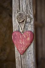 Stange,hängen,Holz,Dekoration,Form,Formen,herzförmig,Herz