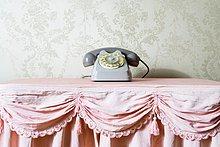 Stilleben,still,stills,Stillleben,Lifestyle,Telefon,Retro,Tischdecke