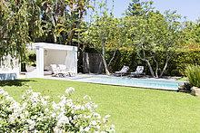 Wohnhaus,Garten,Schwimmbad,Hinterhof,modern