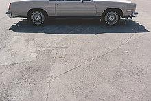 Auto,Retro,parken,amerikanisch,Ansicht