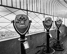 New York City,Amerika,Gebäude,hoch,oben,Fernglas,Ansicht,Verbindung,Aussichtspunkt