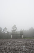 Tag,Nebel,Regen,Feld,Schlamm,Fußball,Galicien,Spanien