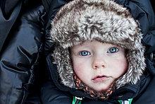 Portrait,Junge - Person,Hut,Kleidung,Baby