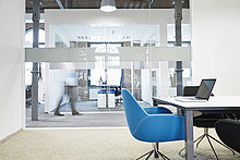 Geschäftsmann,Geschäftsbesprechung,Stuhl,Zimmer,Hintergrund,blau,Bewegungsunschärfe,Konferenz
