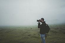 nehmen,Nebel,Fotograf,Wiese,Gemälde,Bild