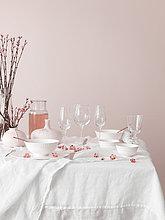 weiß,Dekoration,pink,Västergötland,Tisch,Schweden