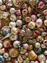 Retro,Weihnachten,Dekoration