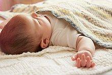 Bett,schlafen,Baby