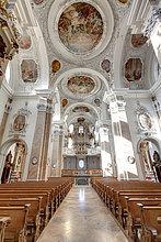 Kloster St. Mang, Füssen, Bayern, Deutschland, Europa