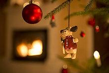 Weihnachtsbaumschmuck, Schweden, Skandinavien, Europa