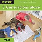 Drei Generationen,um! Fröhlich werden Kartons geschleppt, Räume vermessen, Pläne geschmiedet. Voller Zuversicht wird die neue Umgebung erobert.