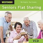 Zukunftsmodell Senioren WG: Senioren leben zusammen. Gemeinsam bewältigen sie den Alltag, fühlen sich wohl und haben viel,dabei.