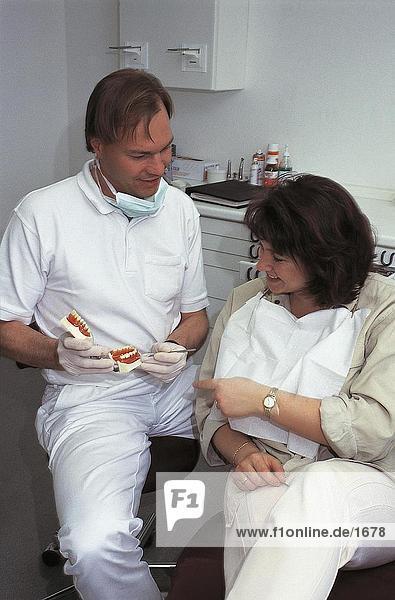 Zahnarzt Ergebnis Prothese Patienten  Deutschland