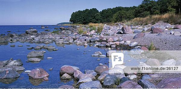 Felsen an der K??ste, Insel Gotland, Schweden