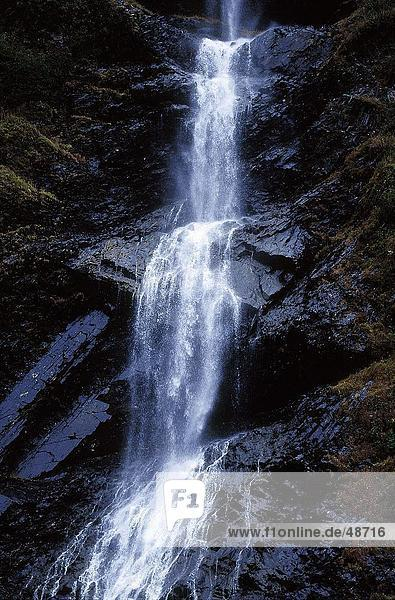 Wasserfall  Valdez  Alaska  USA