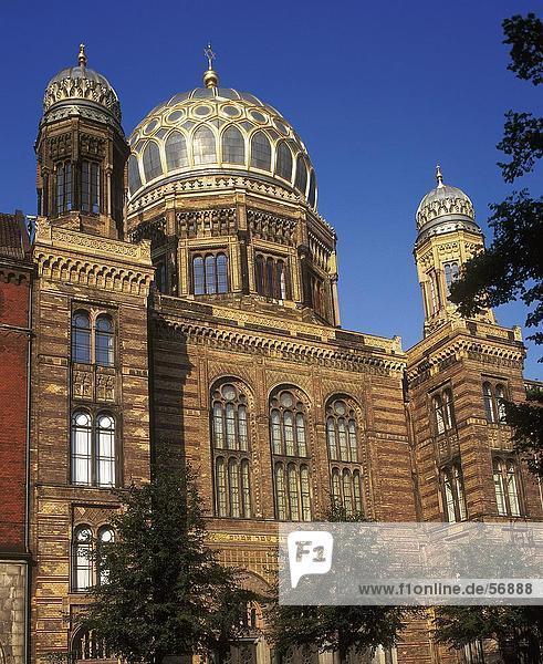 Untersicht-Kirche  Berlin  Deutschland  Europa