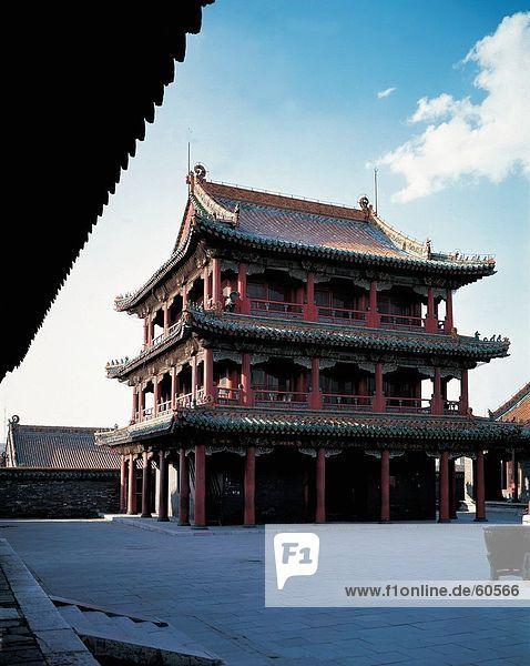 China  Phenix Pavillon in Shenyang Imperial Palace