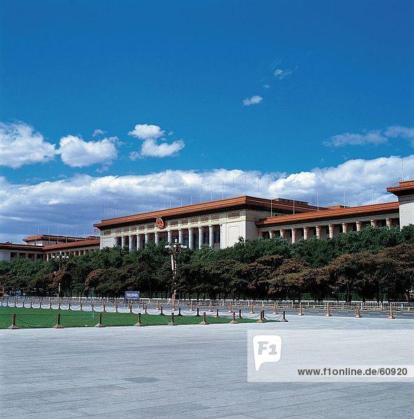 China  Peking  große Halle des Volkes
