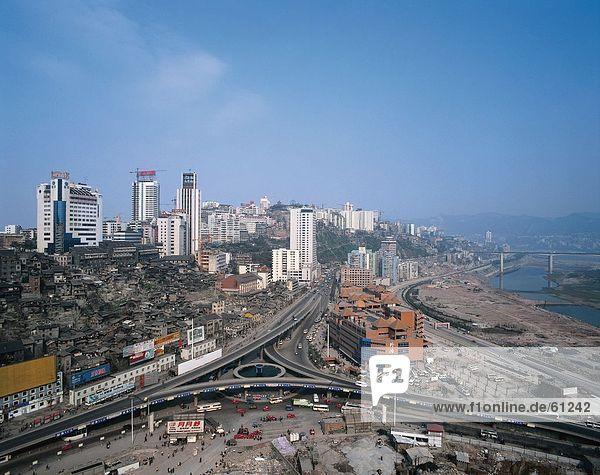 China  Chongqing  Cityscape