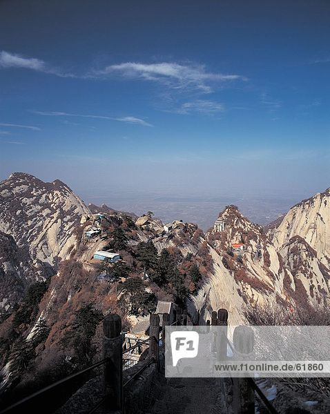 China  Shaanxi  North Peak in Mt.Huashan