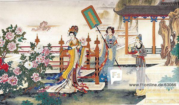 China  chinesische Malerei