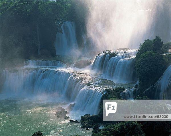 China  Detian Wasserfall  Guangxi
