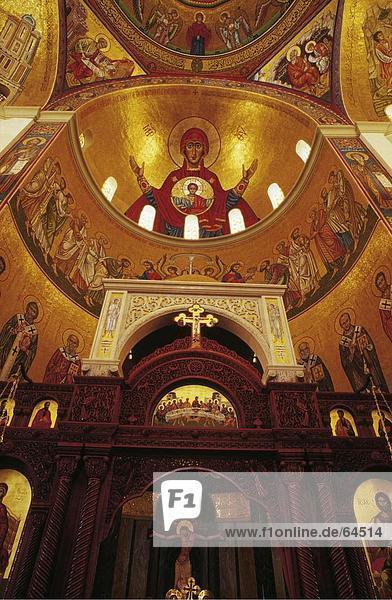 Kirche Gemälde Bild Beirut Libanon