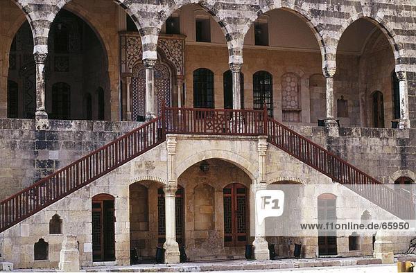 Treppenhaus des Palace  Beit Ed Din Palace  Libanon