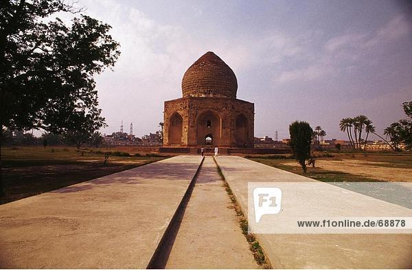 Fassade des Mausoleum  Grab von Asaf Khan  Lahore  Pakistan