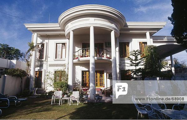 Fassade des Hotels  Peshawar  Pakistan