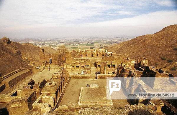 Ruinen des buddhistischen Klosters  Takht Bahai Kloster  Pakistan