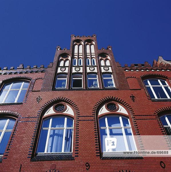 Untersicht des Gebäudes  Mecklenburg-Vorpommern Deutschland