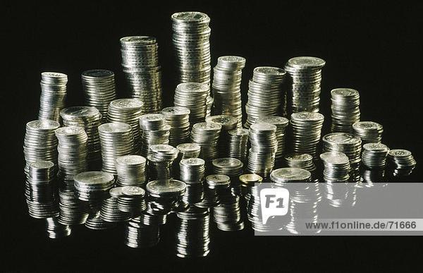 Europa Geld Münzen Münzen Stapeln Schweiz Währung10115698
