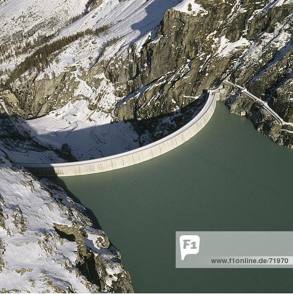 10203555  in der Nähe von Sedrun  Energie  Graubünden  Graubünden  Kraftwerk Vorderrhein  Luftaufnahme  Nalps  Oberalp  Pass  Schweiz