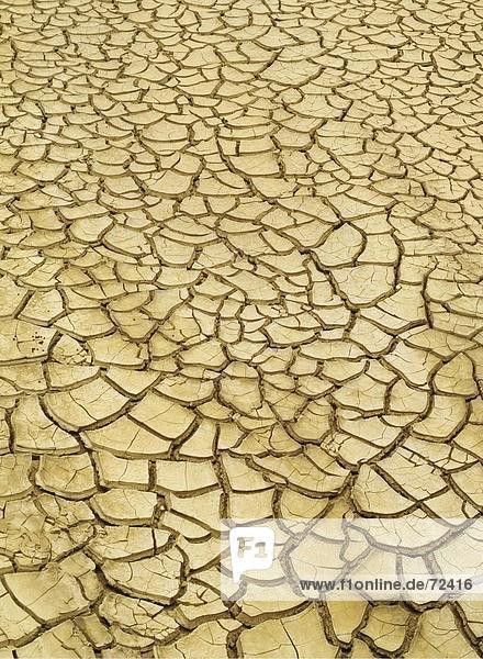 ausgetrocknet, Boden, Land, Lehm, Namakwa, Symbol, Südafrika ...