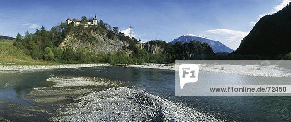10293034  Berge  Stein  Graubünden  Graubünden  Hintergrund  Hinterrhein  Landschaft  Rhazuns  Schweiz  Europa  Ufer