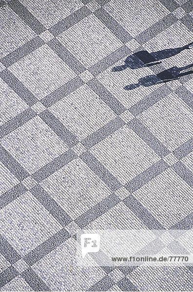 10649883  Altstadt  Fußgängerzone  Kopfsteinpflaster  Fußgänger  Passanten  Ort  Prag  Schatten  Struktur  Tschechien  Europa  Übersicht